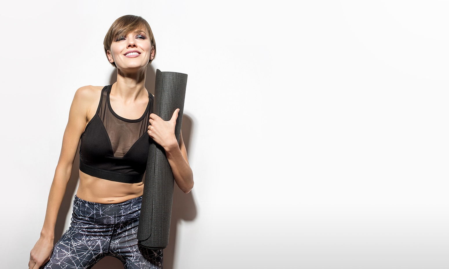 DISCOVER THE<br> BIGGER BETTER<br> YOGA MAT