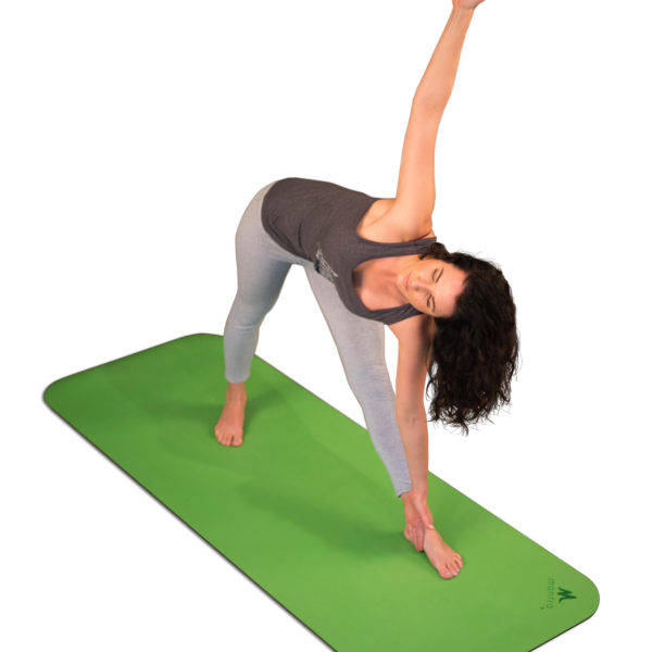 Green Luxe yoga mat